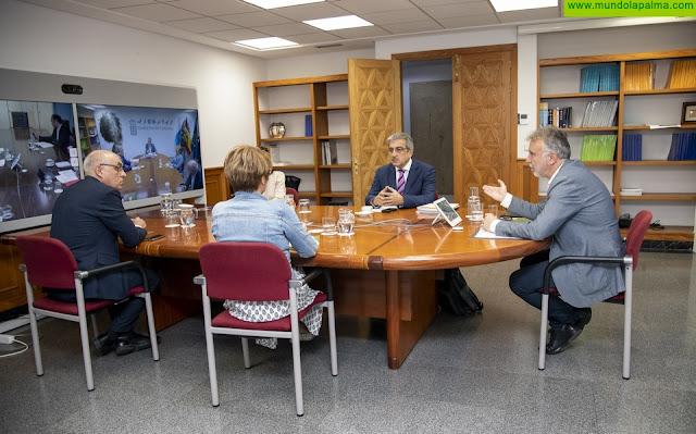 Los agentes sociales y económicos respaldan la hoja de ruta del Pacto para la Reconstrucción de Canarias propuesto por el presidente Ángel Víctor Torres