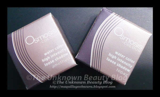 Metallic Finish Water Color Eyeshadows by Osmosis Colour