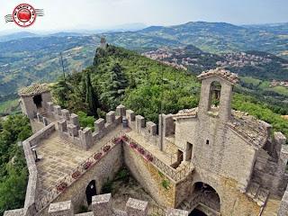 San Marino - Vistas desde Rocca Cesta (Montale)