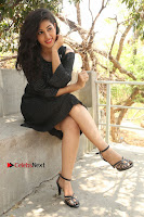 Telugu Actress Pavani Latest Pos in Black Short Dress at Smile Pictures Production No 1 Movie Opening  0186.JPG
