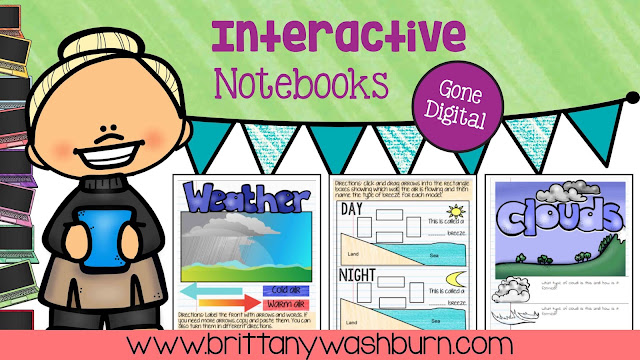 Interactive Notebooks have gone DIGITAL