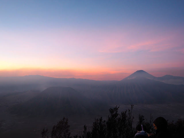 Sunrise at Mt Bromo, Java, Indonesia
