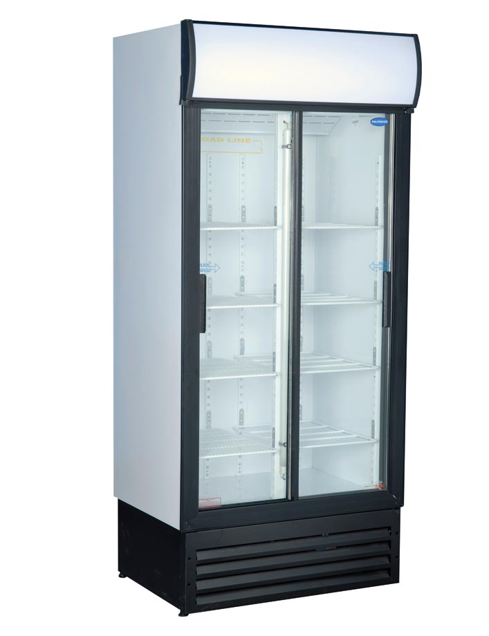Cool Solutions Beverage Cooler Special Sliding Glass