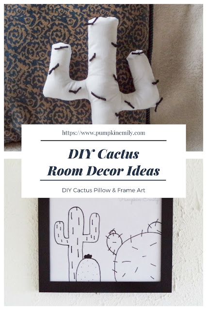 DIY Cactus Room Decor Ideas