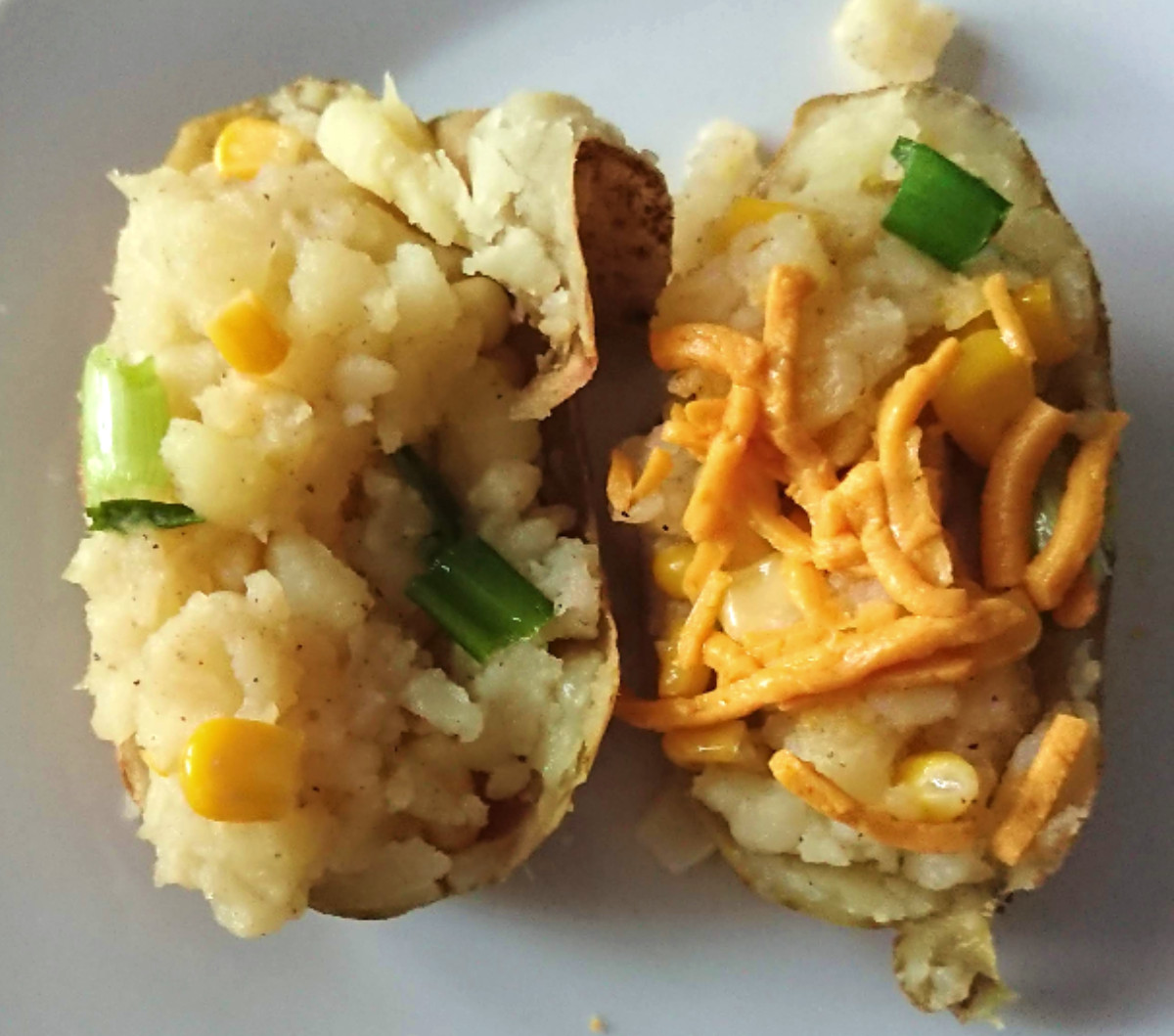 Gluten Free and Dairy Free Baked Potatoes