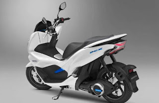 Motor Honda Terbaru  PCX Listrik
