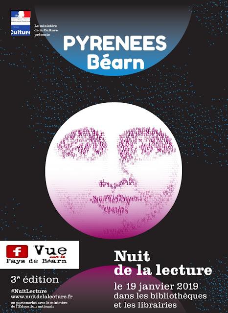 nuit de la lecture Béarn Pyrénées 2019