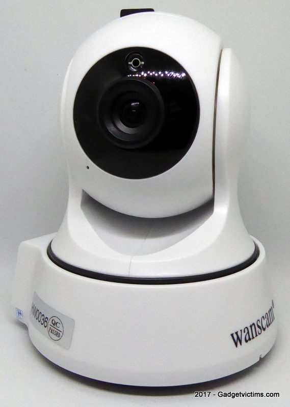 Wanscam HW0036: same as Digoo BB-M2 with same flaws - Gadget Victims