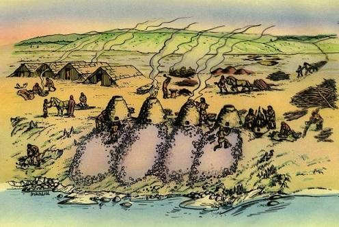 L'énigme de l'ancienne production du fer en Norvège