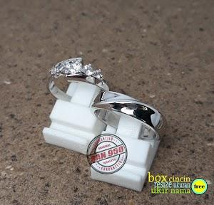 cincin emasputih paladium P6751