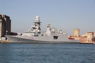 La fregata Margottini in Medio Oriente