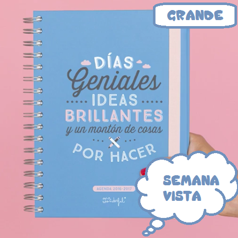 Esperando la nueva agenda mr wonderful 2016 2017 the - Agenda de mr wonderful 2017 ...