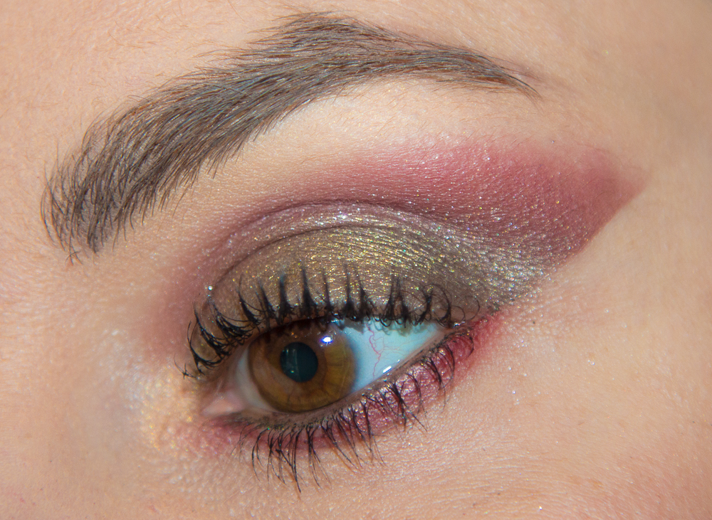 maquillage - rouge - kaki - tutoriel