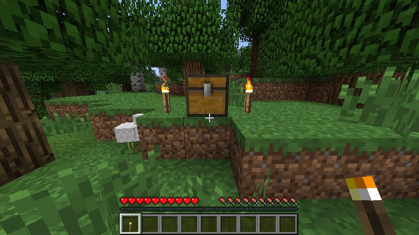 歲歌: Minecraft 新手教學(一)