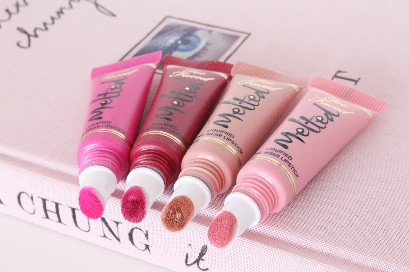 Too Faced Melted Kisses Blog Review
