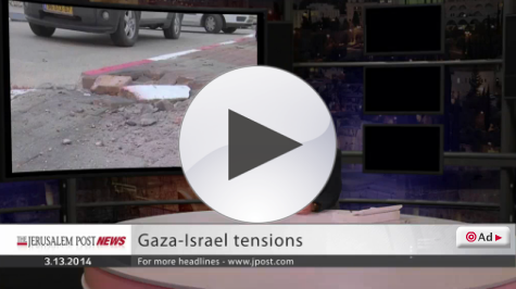Breaking News of Rockets fired into Israel