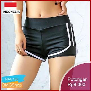 NAG190 Celana Pendek Wanita Untuk Olahraga Yoga Lari Murah Bmgshop