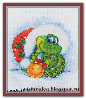 Cross-stitch Lan Svit D-042 «Snake's Charm»