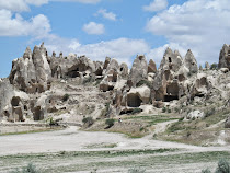 The wild and magical tofa carved caves, homes and hotels of Cappadocia (Turkey)