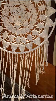 mandala atrapasueños a crochet 2