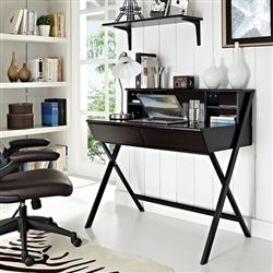 Retro Home Office Interior