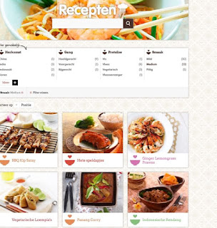Zoeken op recept bij asianfoodlovers.nl