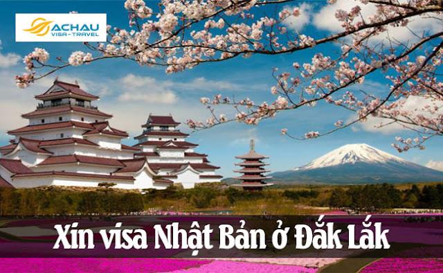 Xin visa Nhật Bản ở Đắk Lắk