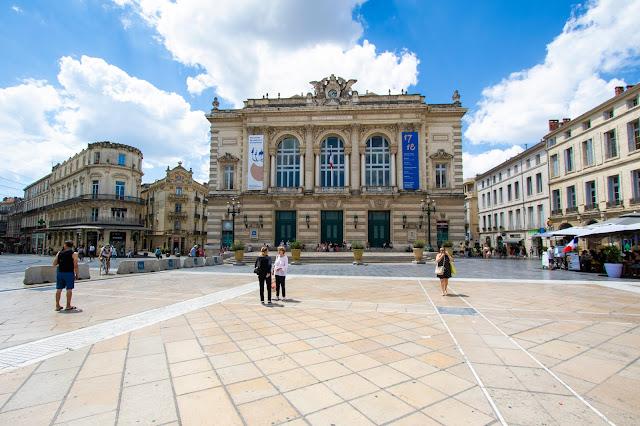 Teatro dell'Opera-Place de la Comédie-Montpellier
