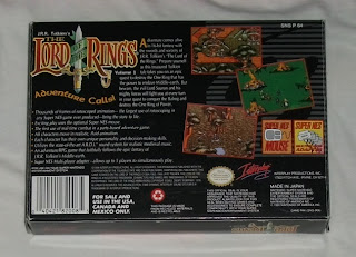 The Lord of the Rings Vol. I - Caja detrás