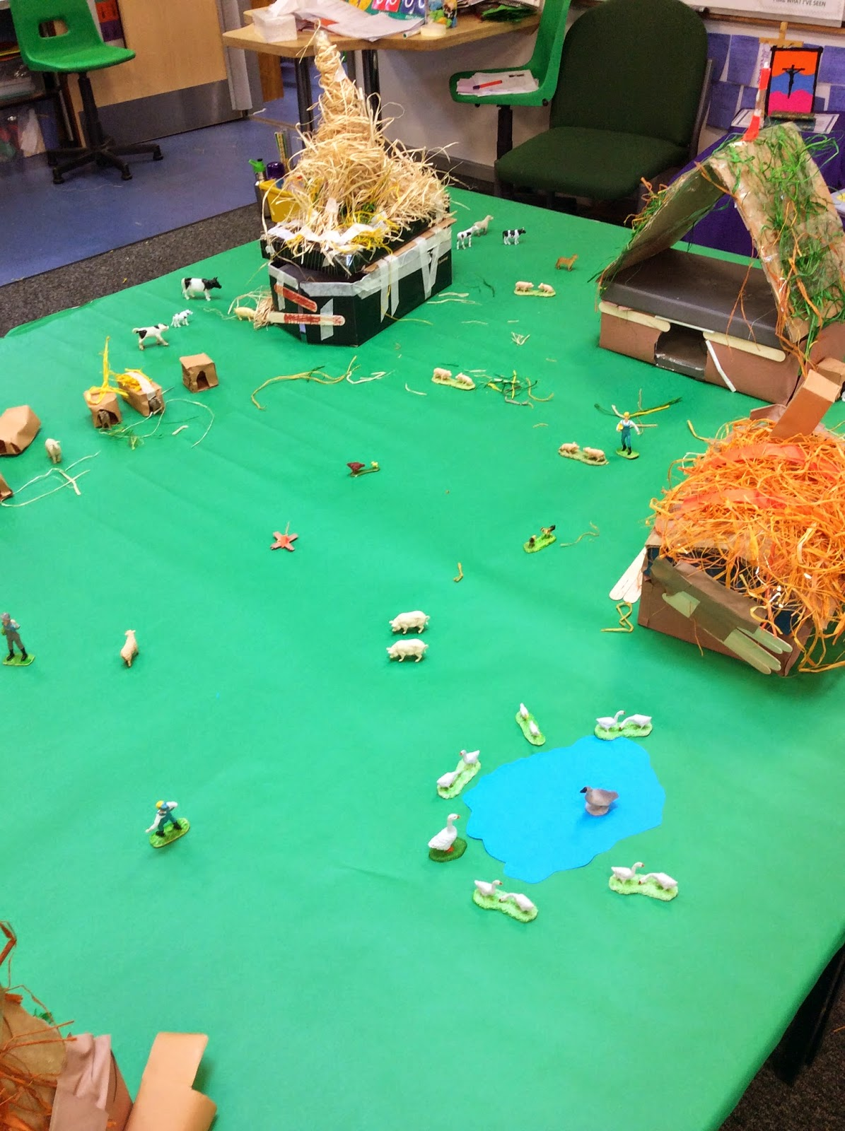 St Clare S Class Blog Our Anglo Saxon Village