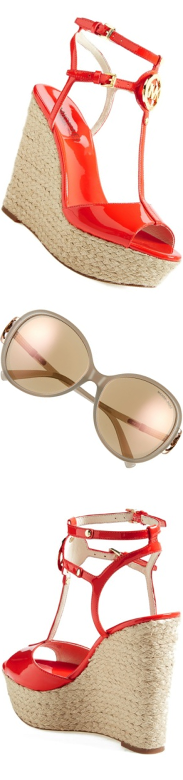 Michael Kors Collection 58mm Pavé Stone Sunglasses