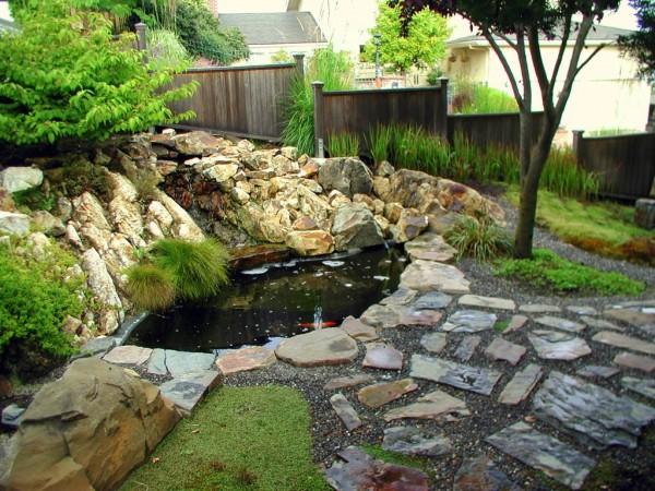 Hogares frescos los jardines japoneses una versi n en for Koi import el patio