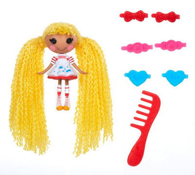 Mini Lalaloopsy Loopy Hair Doll - Spot Splatter Splash