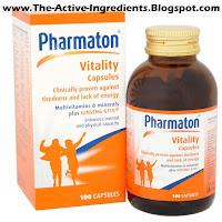 Pharmaton Capsules - Quick Relief Of Tiredness Fatigue