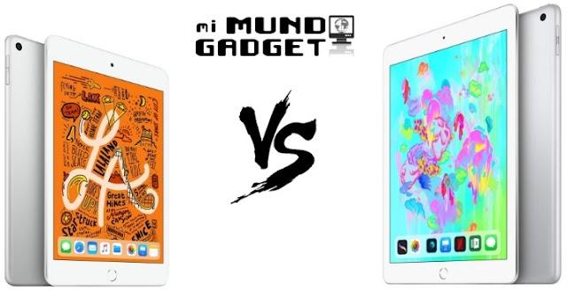 ▷iPad Mini 2019 vs iPad 2018, Diferencias destacadas