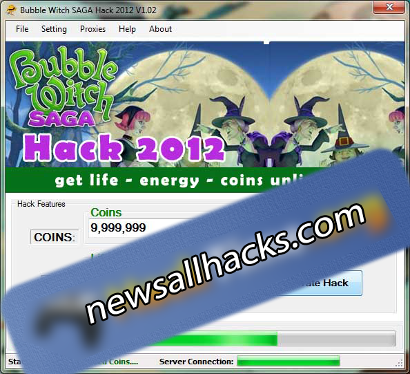 bubble witch saga hack unlimited energy life and coins