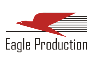 Eagle Production Logo Vector