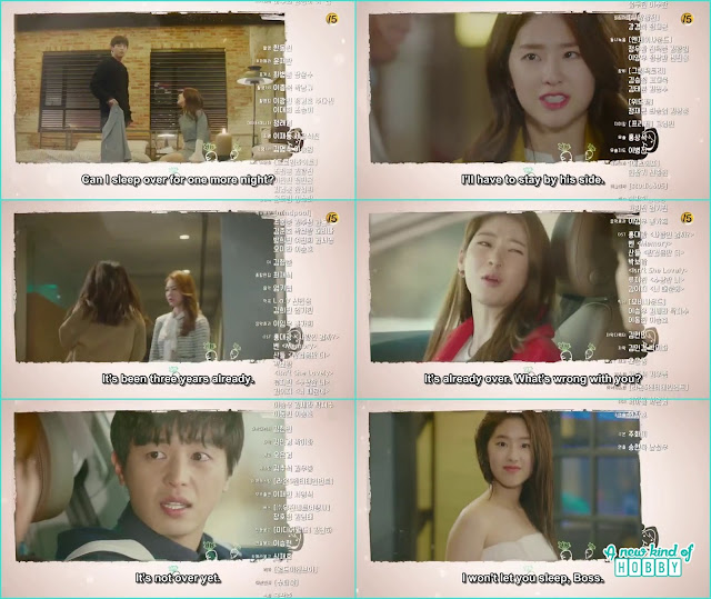 hwang gi sister knew ra won is the little sister of the girl who died - My Shy Boss: Episode 12 Preview