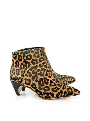 Sam Edelman Lucy Leopard Print Ankle Boots