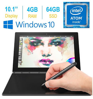 """2017 Newest Lenovo Yoga Book 10.1"""" FHD Touch IPS"""
