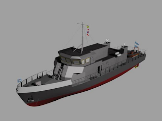 Resultado de imagen para El astillero Río Santiago puso en grada el primer buque que diseña para la armada en 40 años