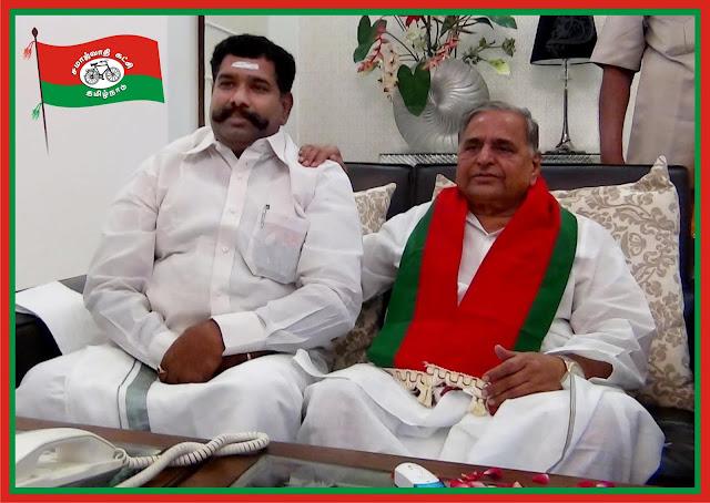 தமிழ்நாடு சமாஜ்வாதி கட்சி மாநில தலைவர்
