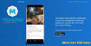 Dapatkan informasi kuliner dan promo melalui Aplikasi MboisApp