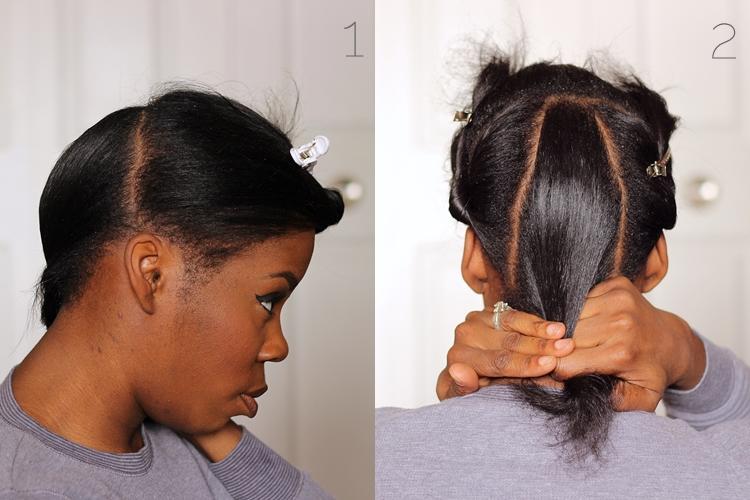 Wondrous Hair Pictorial Sloppy Bun With Back Braids Birth Of A Fashion Short Hairstyles For Black Women Fulllsitofus
