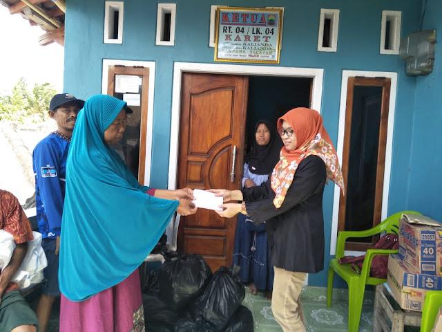 Muakhian Kalianda Berikan Bantuan Untuk Korban Tsunami