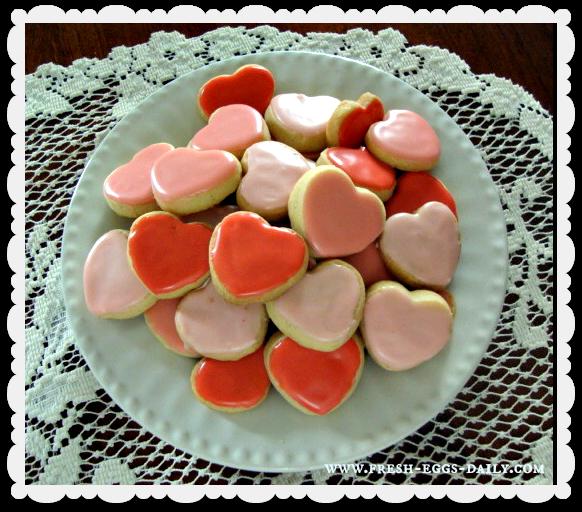 Shortbread heart cookies recipes
