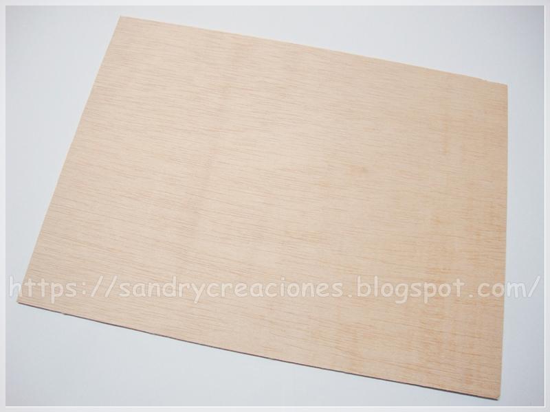 Lamina de madera