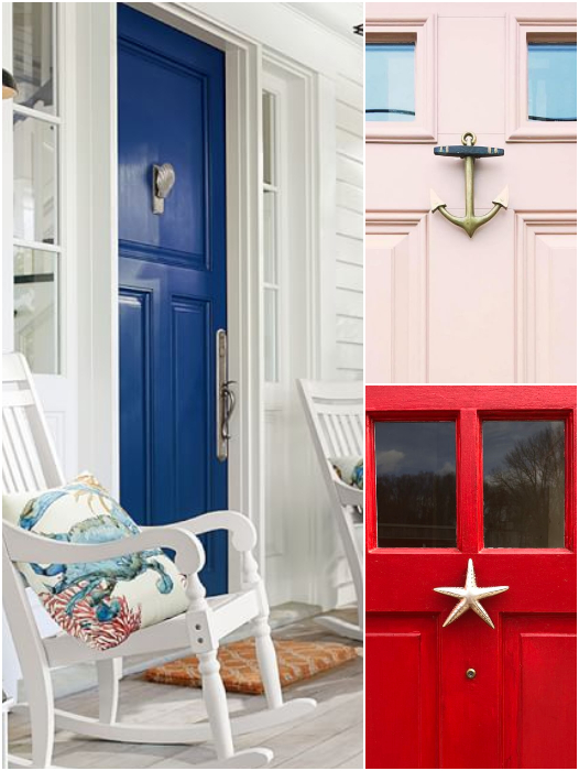 Coastal Nautical Door Knocker Ideas