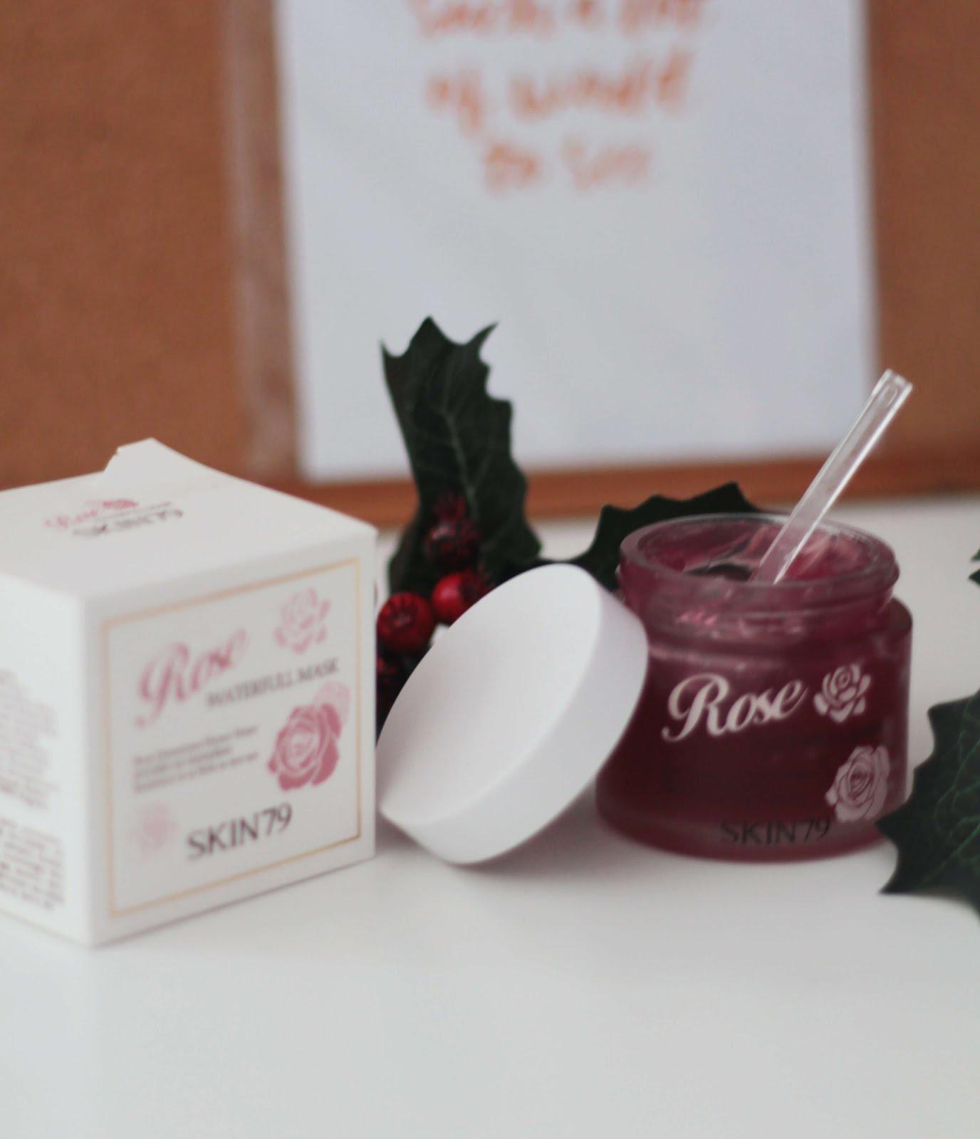 skin79 rose waterfull mask review