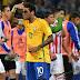 Brasil venció 3-0 a Paraguay